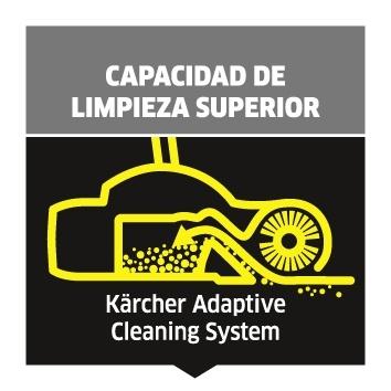 Usa la escoba eléctrica Karcher KB 5 con alimentación por baterías, para una limpieza de mantenimiento cómoda y un rendimiento extraordinario.