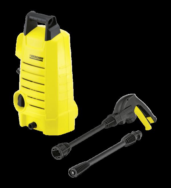 Compacta, poderosa y económica: la hidrolavadora Karcher K1 mx de alta presión de gama compacta para uso en el hogar